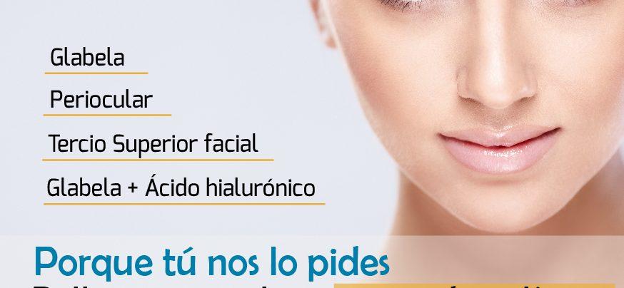 botox, toxina botulinica, mediestetic, promociones, medicina estetica