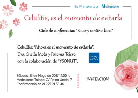 celulitis, mediestetic, conferencias
