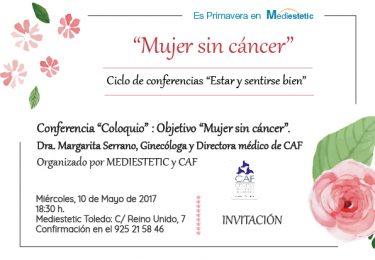 oncologia, estetica, mediestetic, conferencias cancer, CAF,