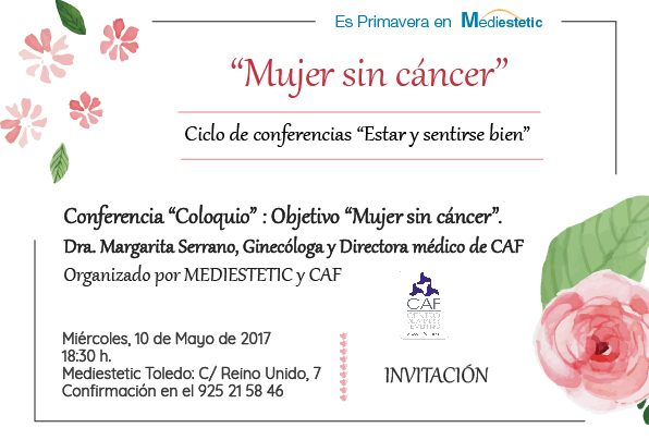 oncologia, estetica, mediestetic, conferencias cancer, CAF,