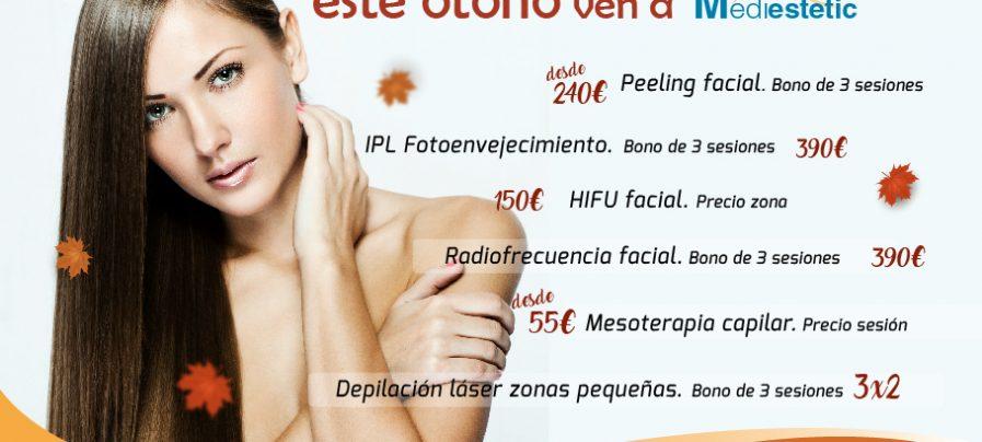 mediestetic, peeling, mesoterapia, antienvejecimiento, mesoterapia capilar, HIFU, radiofrecuencia facial